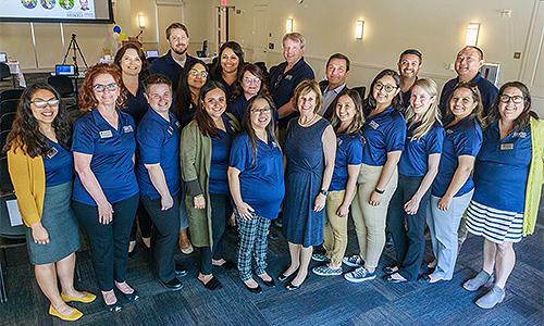 Graduate Division staff photo