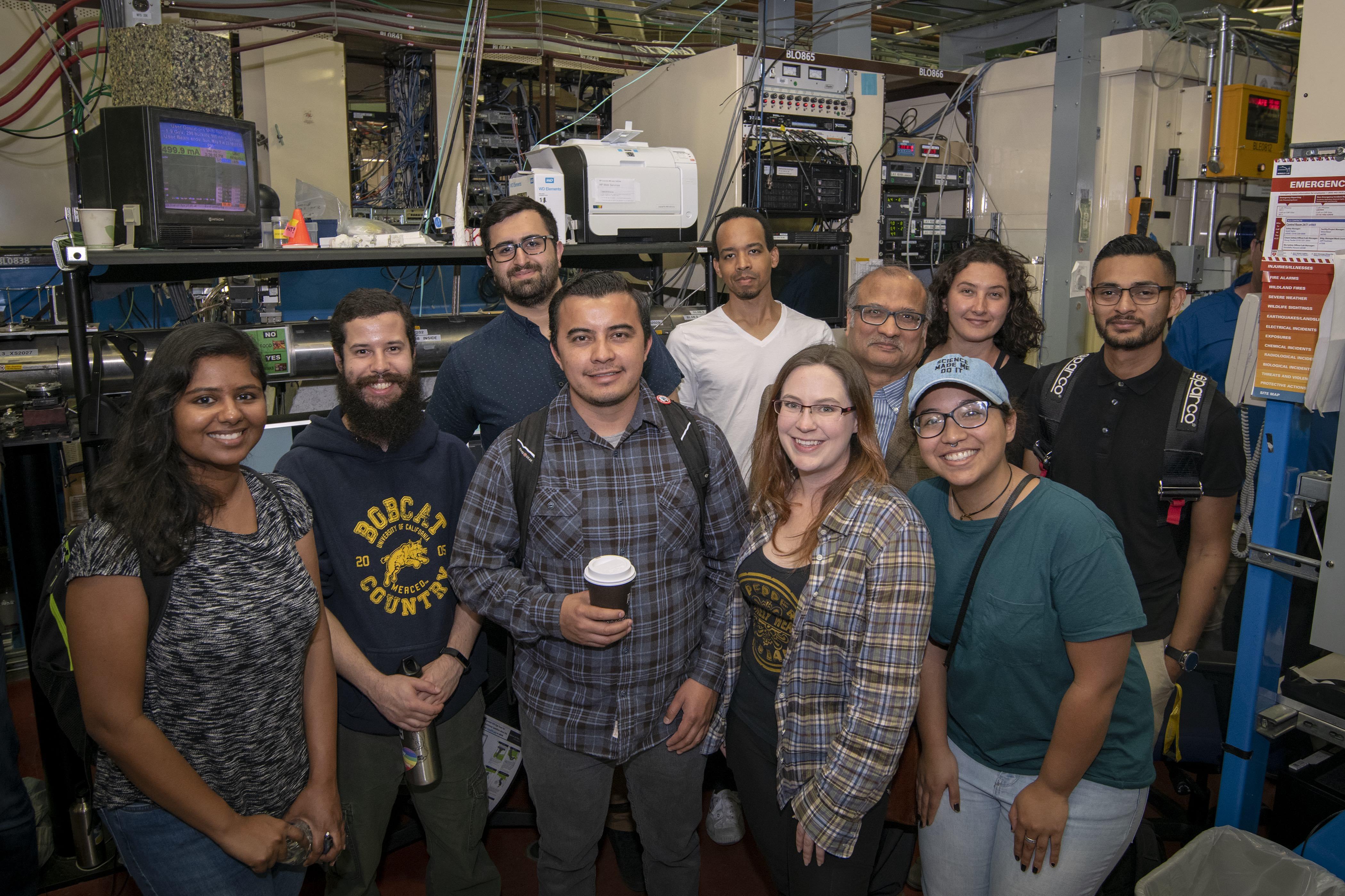 UC Merced's 2018-19 NRT ICGE cohort