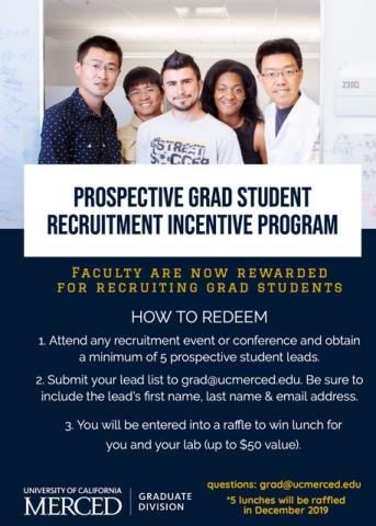 Graduate Student Recruitment Incentive